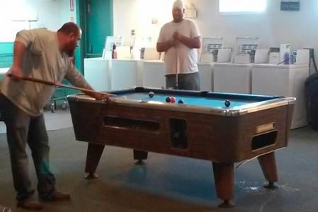 Pool Table & Washateria